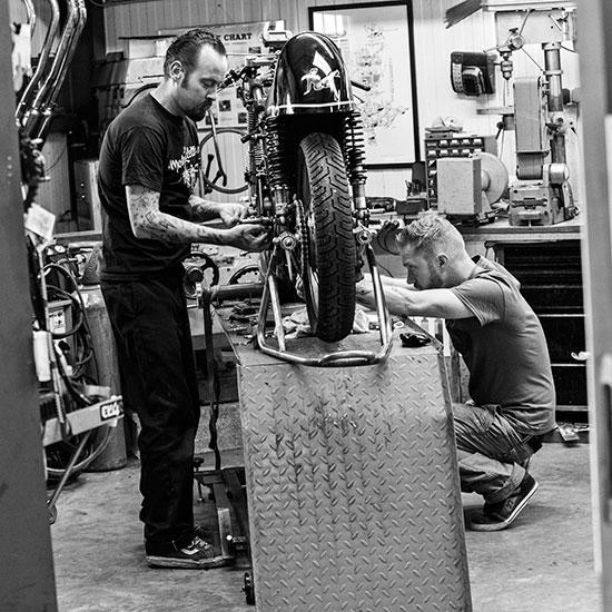Atelier Frank Chatokhine - Histoire Blouson Record Les Motocyclettistes