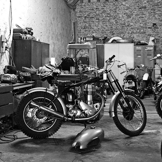 Atelier Jean-Yves Sellin - Histoire veste Les Motocyclettistes