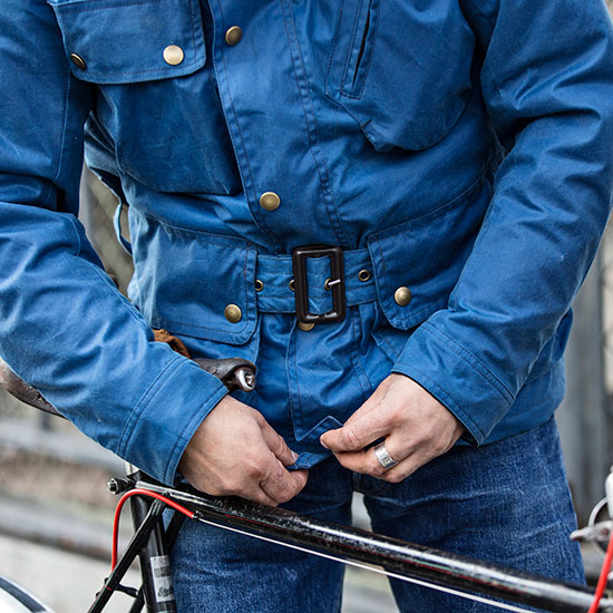 Détail veste Galibier de Redouane Rabahi - Histoire veste Galibier Les Motocyclettistes