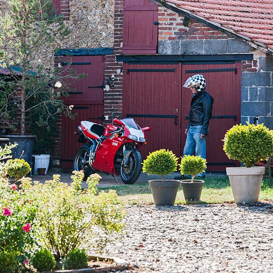Roland Chatokhine et sa Ducati 996 SPS