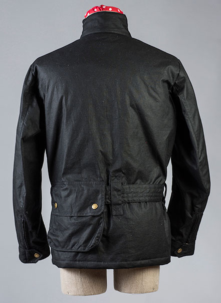 Veste Classique Les Motocyclettistes vue de dos
