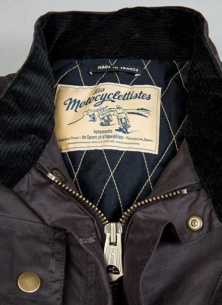 Veste de femme 1962 Les Motocyclettistes - Détail
