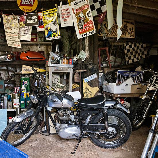 BSA C15 T Usine de 1964 de Zoé David - Histoire veste de femme 1962 Les Motocyclettistes