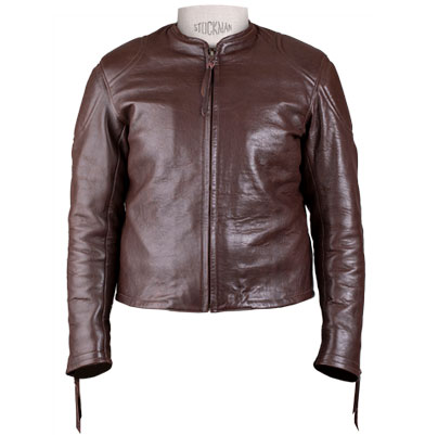 Blouson Grand prix de France marron Les Motocyclettistes - Vignette