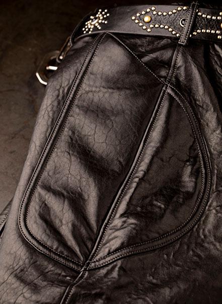 Culotte de compétition Les Motocyclettistes - Epaule