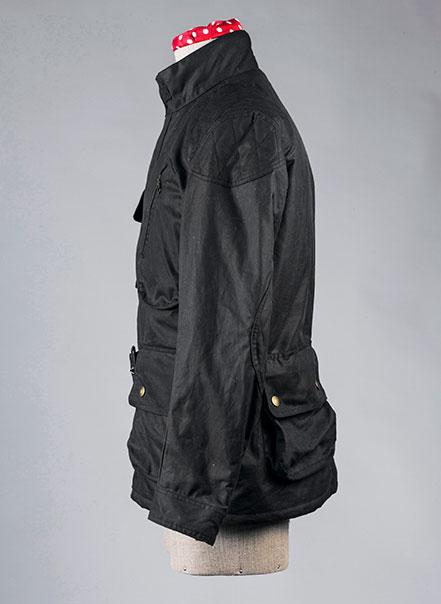 Veste de moto Les Lilas - Les Motocyclettistes vue de côté
