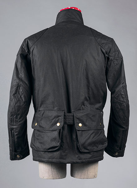 Veste de moto Les Lilas - Les Motocyclettistes vue de dos